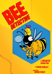 Bee Detective poster by James Merry