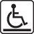 Wheelchair access symbol